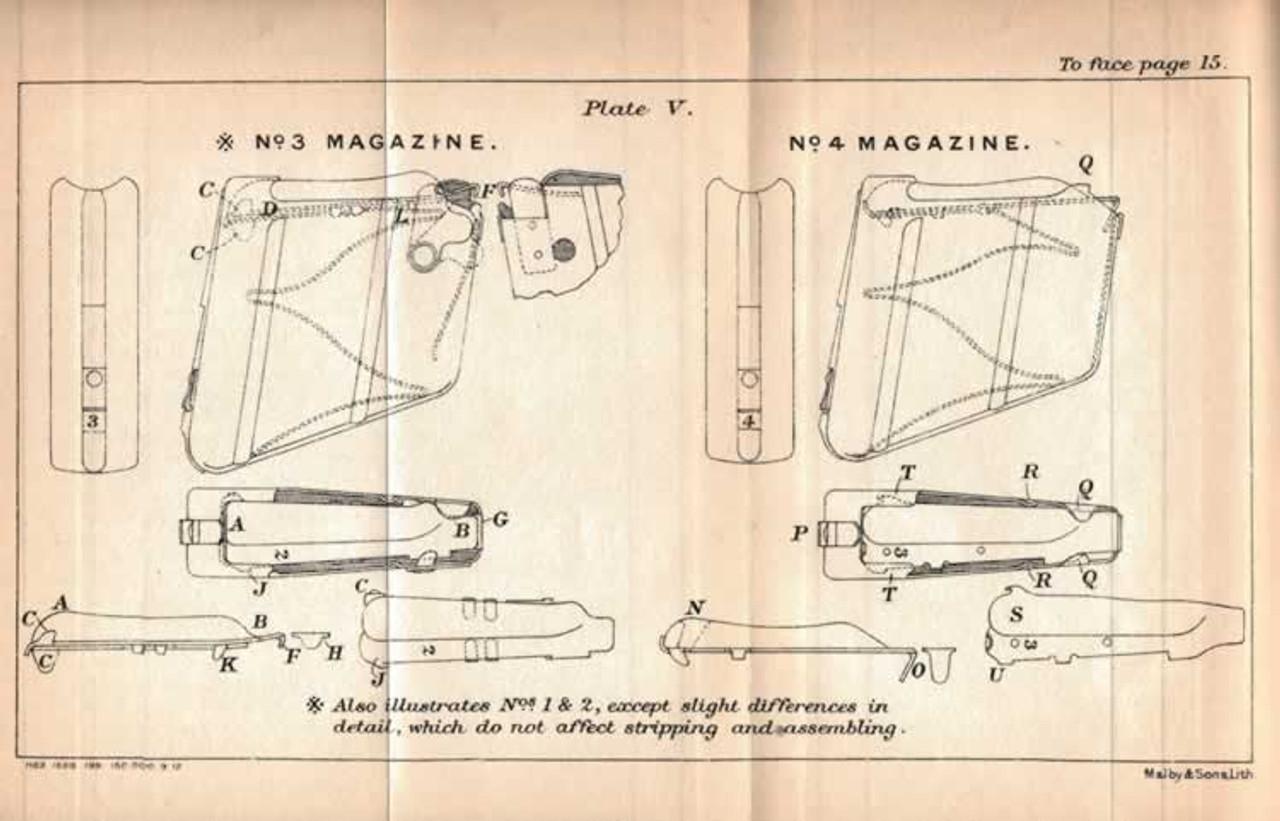 SMLE No. 1 Magazine Early Type