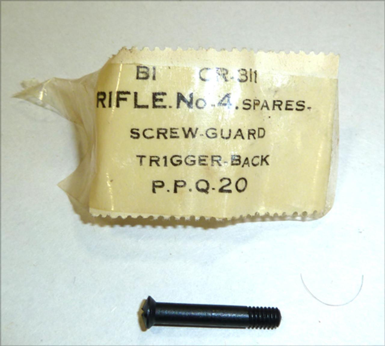 18 - SCREW, Trigger Guard, Rear