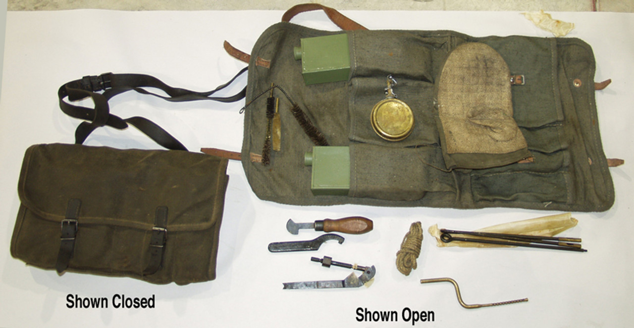 MG42 Gunner Kit with hot barrel mit
