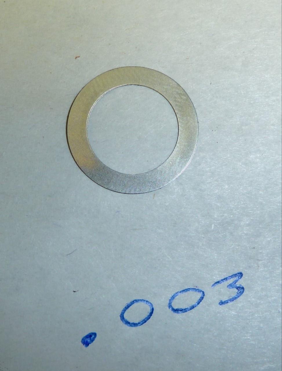Vickers Lock Headspacing Washer (repro), No. 1 .003 thickness