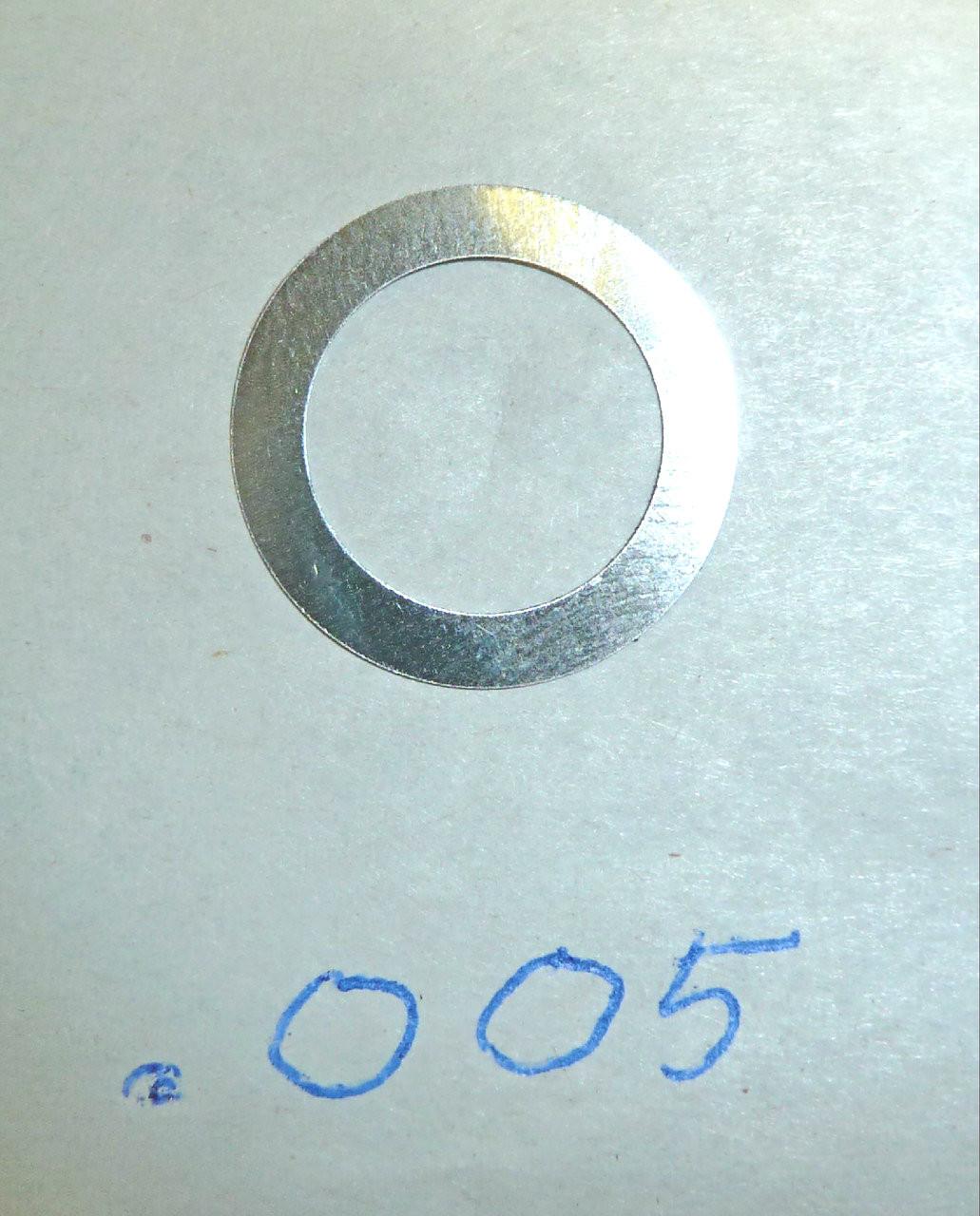 Vickers Lock Headspacing Washers No. 2 (repro), .005 Thickness