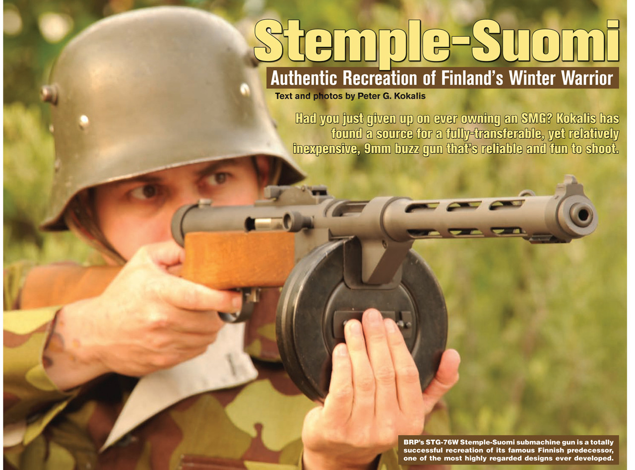 Stemple Takedown Gun (STG) Stemple-Suomi