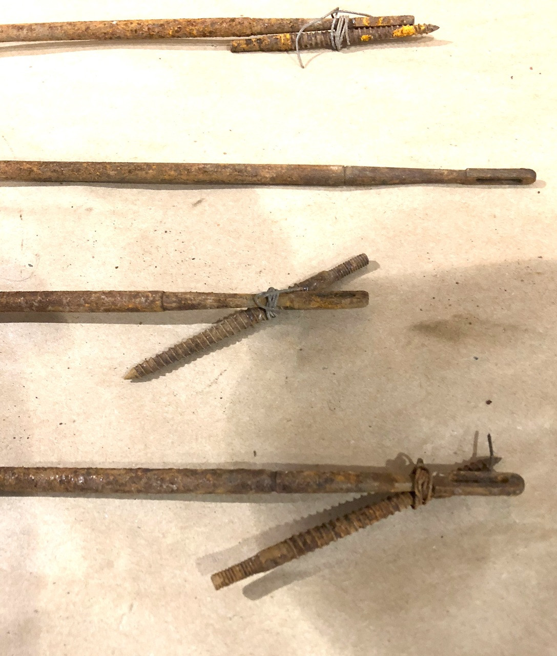 Lot of 5 Low Grade BROWNING Cleaning Rods