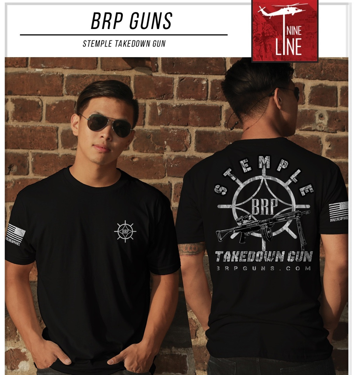 BRP STG T Shirt by Nine Line