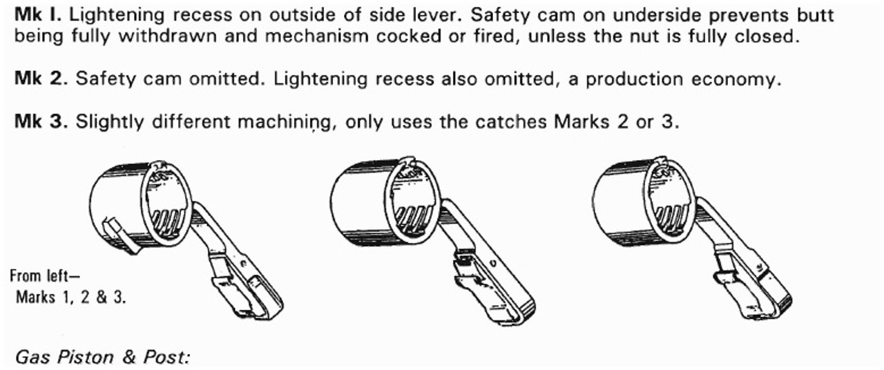 """BREN Barrel Nut Mk3 """"No. 4"""" - ASSD (new in wrap)"""
