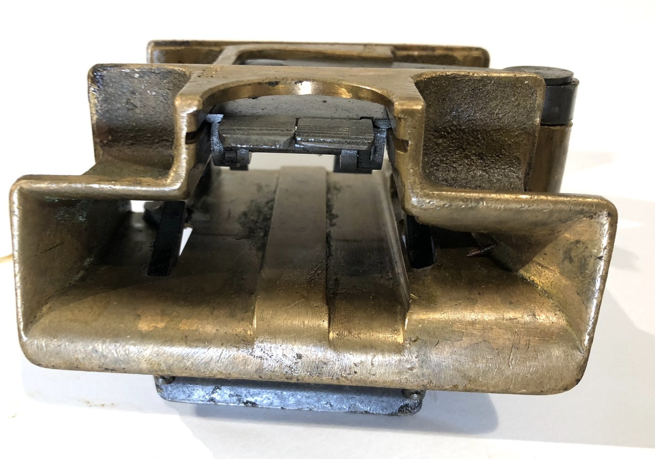 VSM All Brass Feed Block Assembly - numbered
