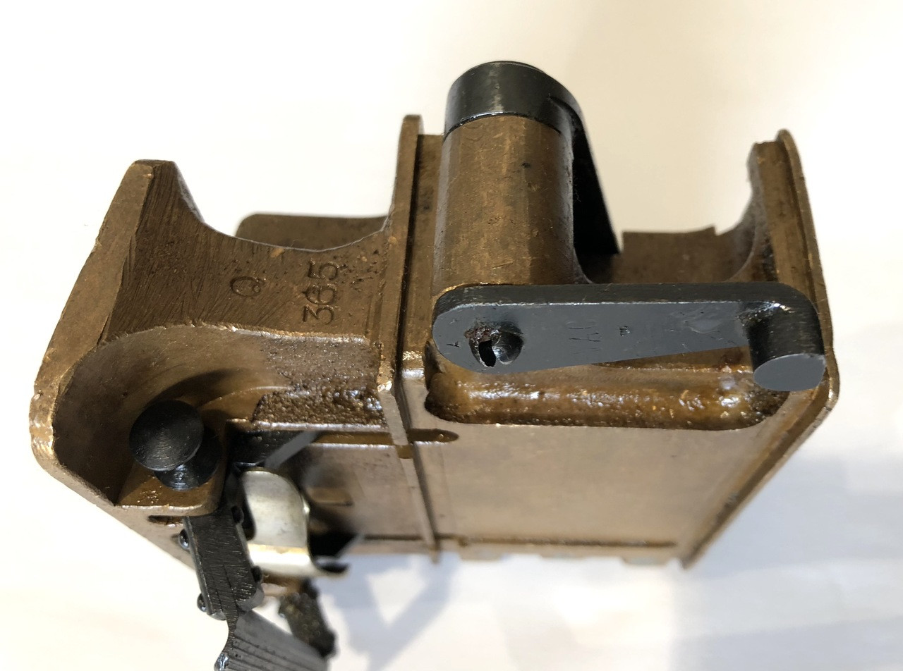 VAC All Brass Feed Block Assembly - numbered