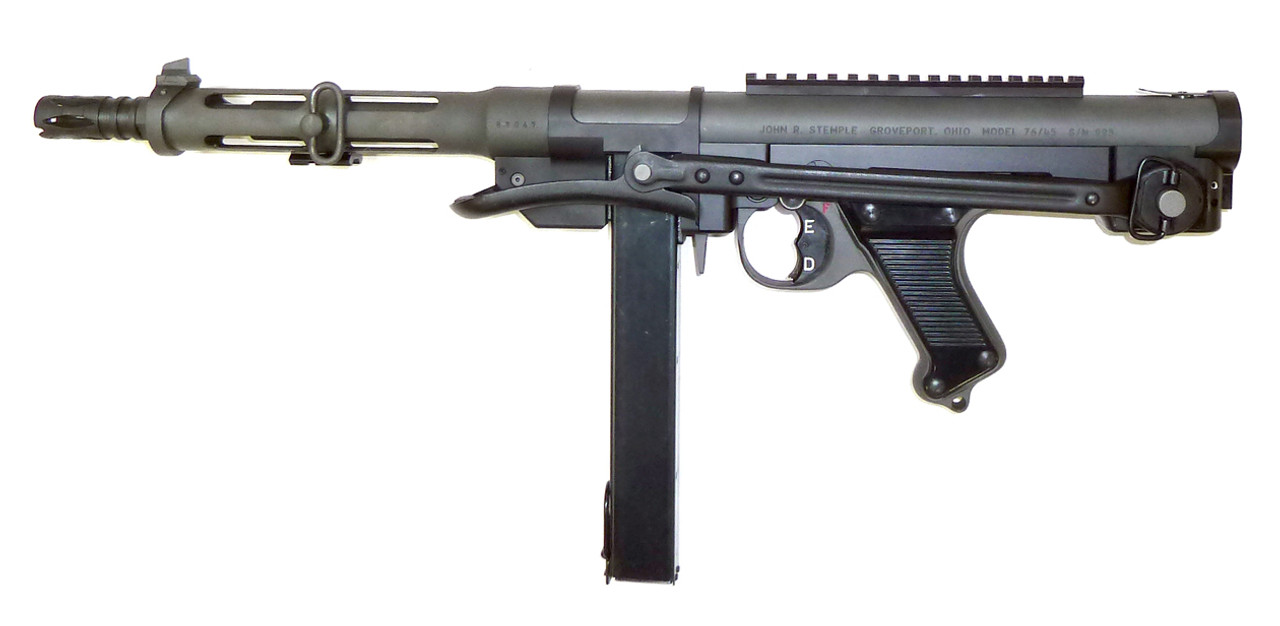 STG 34k shown with AK under-folding stock.  A special foam pattern for the hard case is also available for this setup.