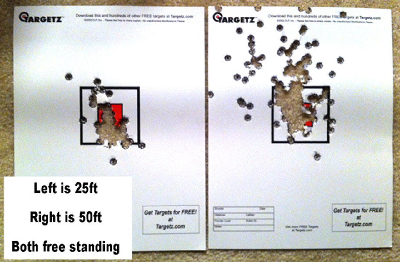 A picture from a sharp-shooting customer: