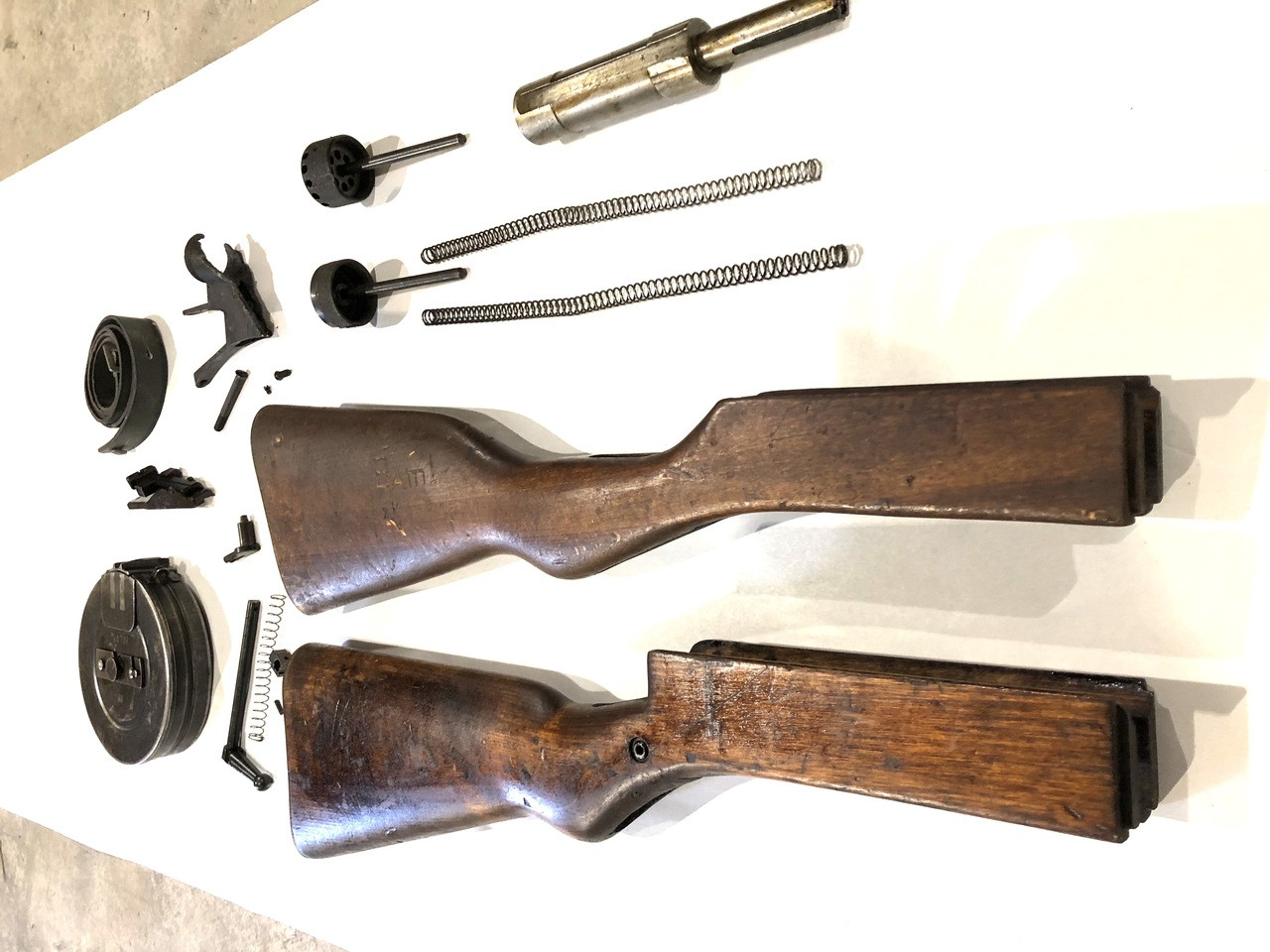 Suomi KP31 / Swed M37 Parts Lot