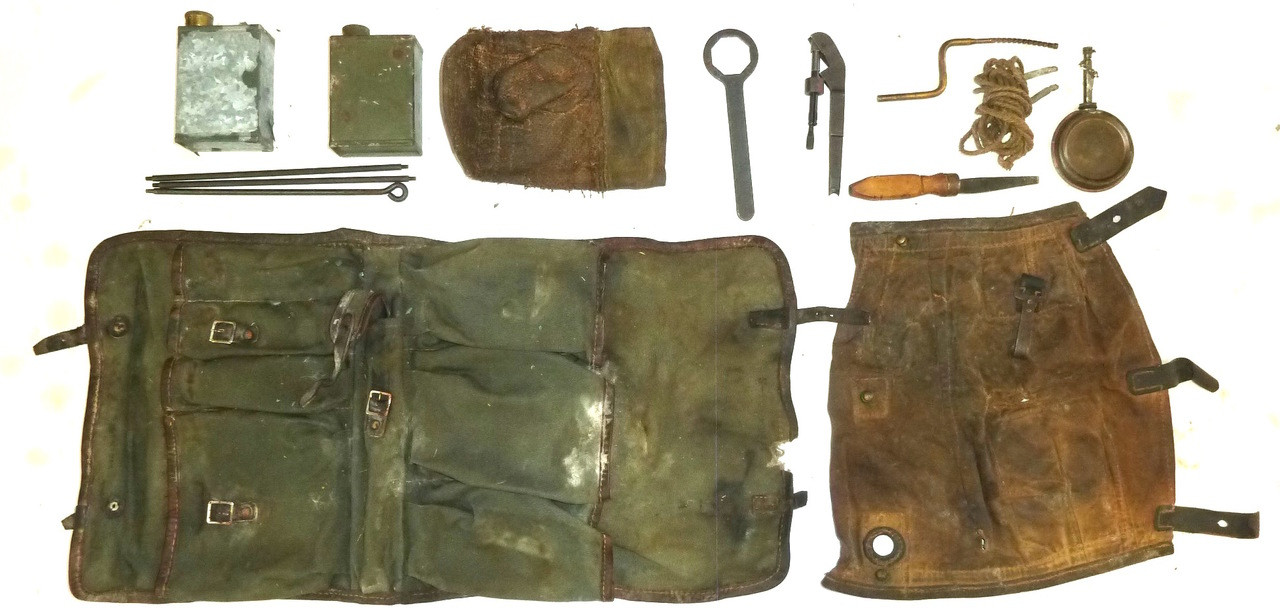MG-34 Gunner's Kit (LOW GRADE)