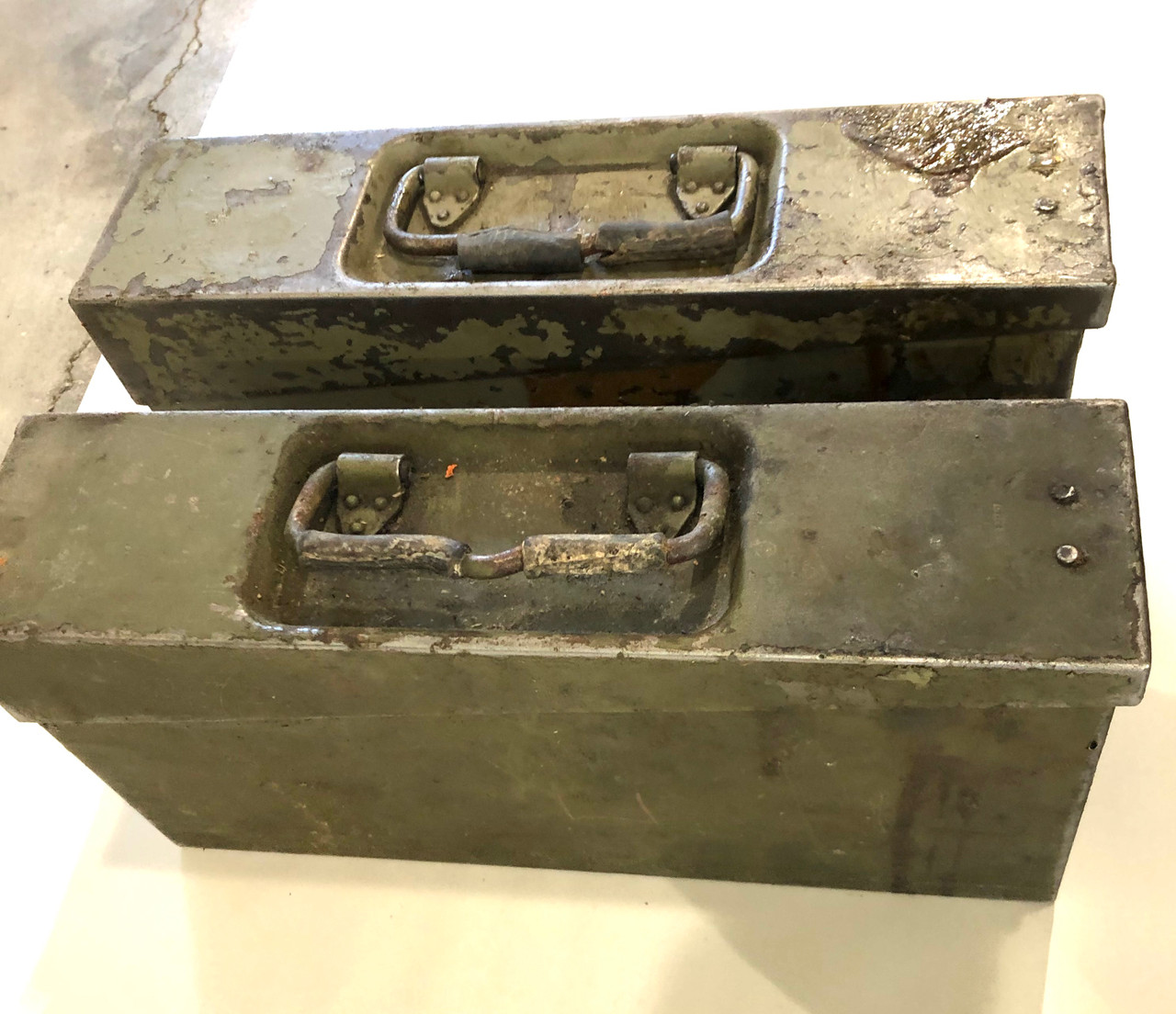 Lot of 2 VZ37 Ammo Cans