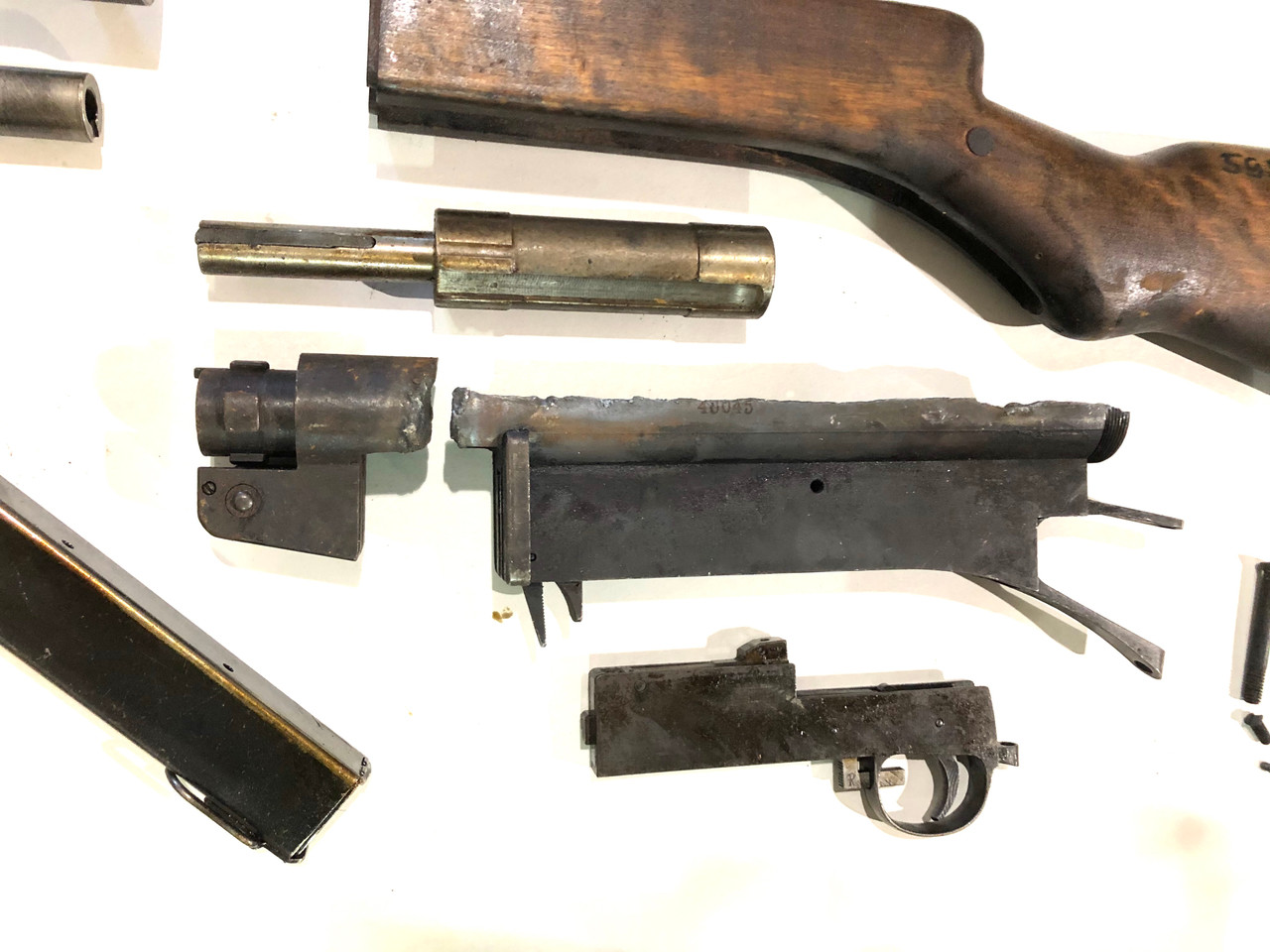 Suomi KP31 Parts Kit With Barrel & Compensated Shroud - Horizontal Cut Receiver