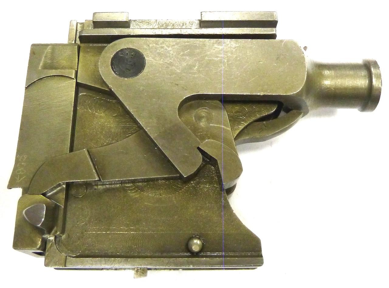 Vickers Lock Assembly - VAN - ex+ cond., w/extra lock spring