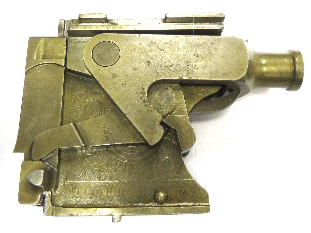 Vickers Lock Assembly - VSM - good+ cond., w/extra lock spring