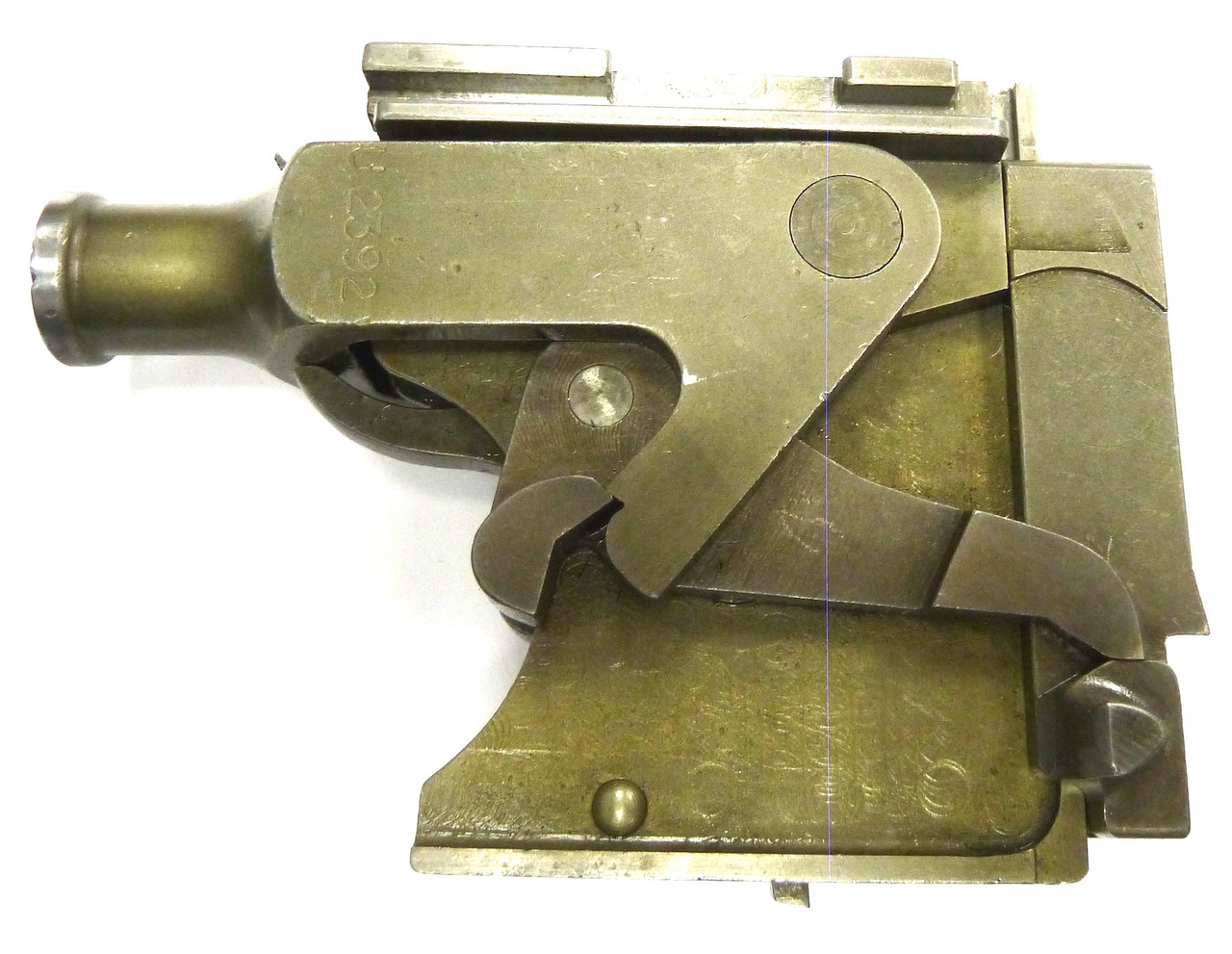 Vickers Lock Assembly - S81 - ex.+ cond., w/extra lock spring
