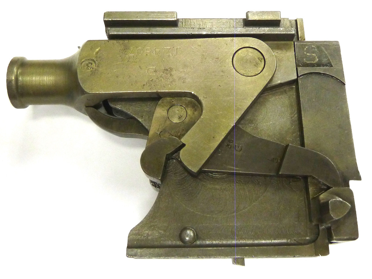 Vickers Lock Assembly - Mixed Manufacturers - good.+ cond., w/extra lock spring