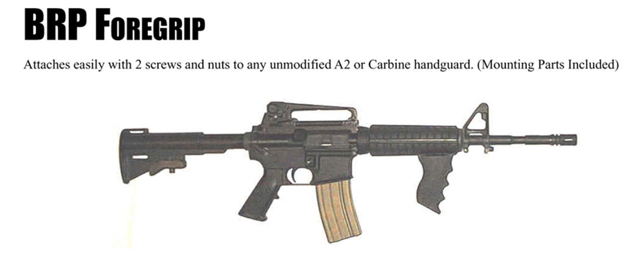 AR Handguard Foregrip