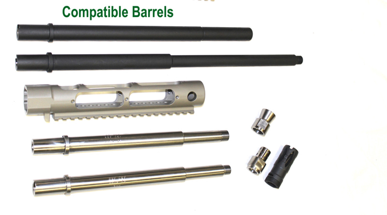 STG Universal Barrel Shroud with Extra Rail (NiB Plated)
