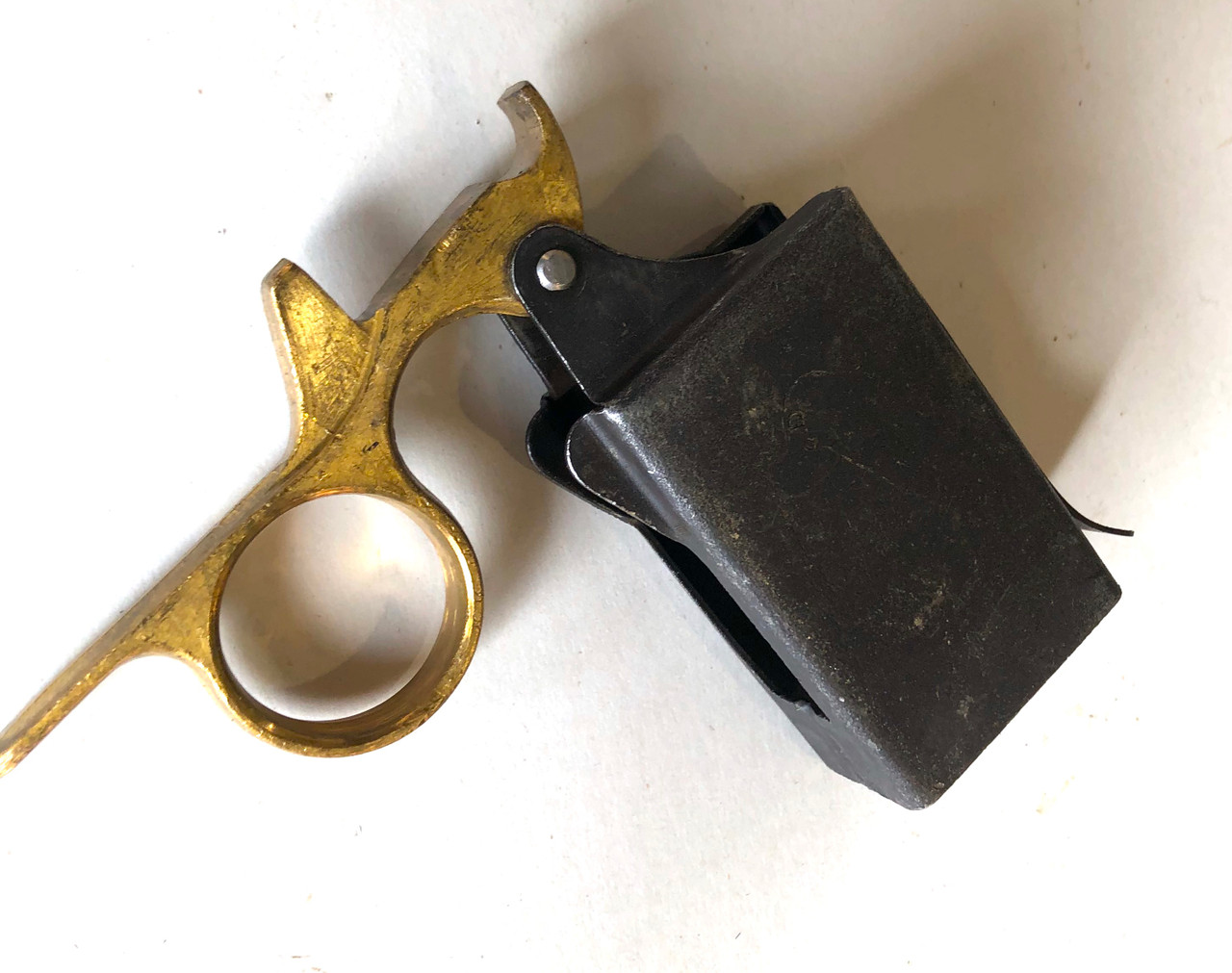 Early 2nd Pattern STEN Mk2 Magazine Loader - Very Good Condition