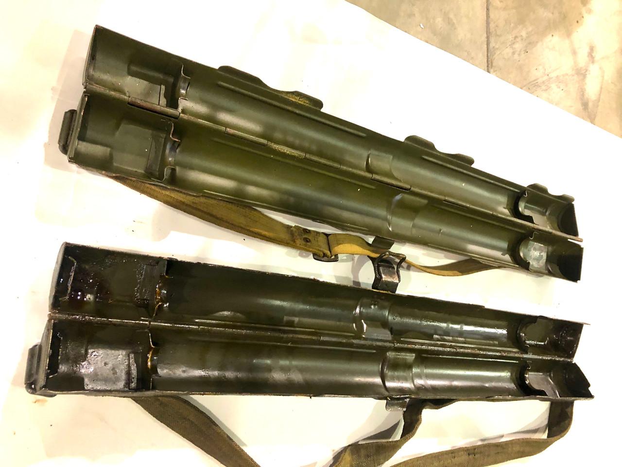 Lot of twoNazi marked: Laufschützer 43, 34&42 Dual Purpose Barrel Carriers- lot 16