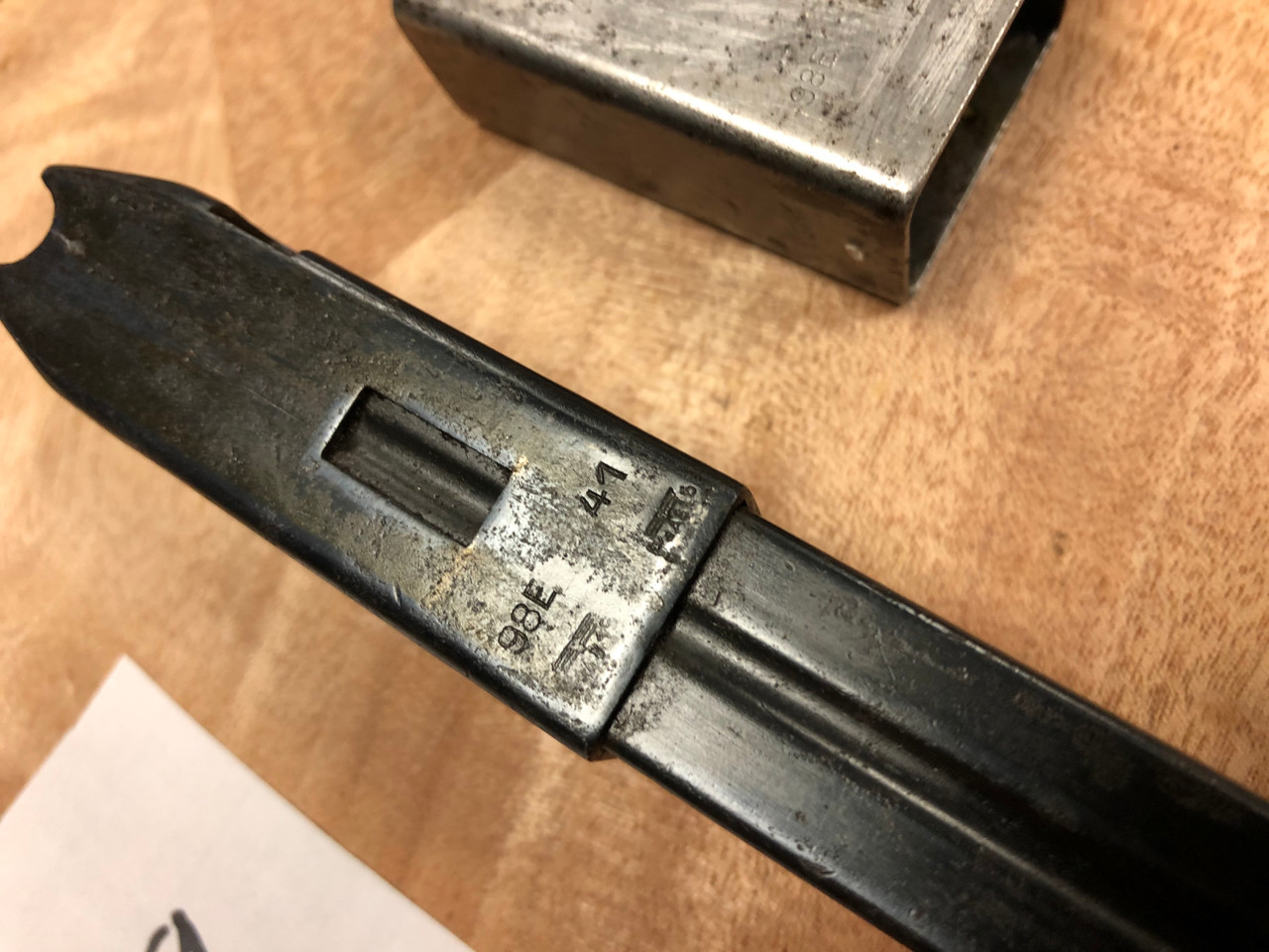MP40 Early Magazine and Loader lot - Steyr Marking  (lot 200728-09)