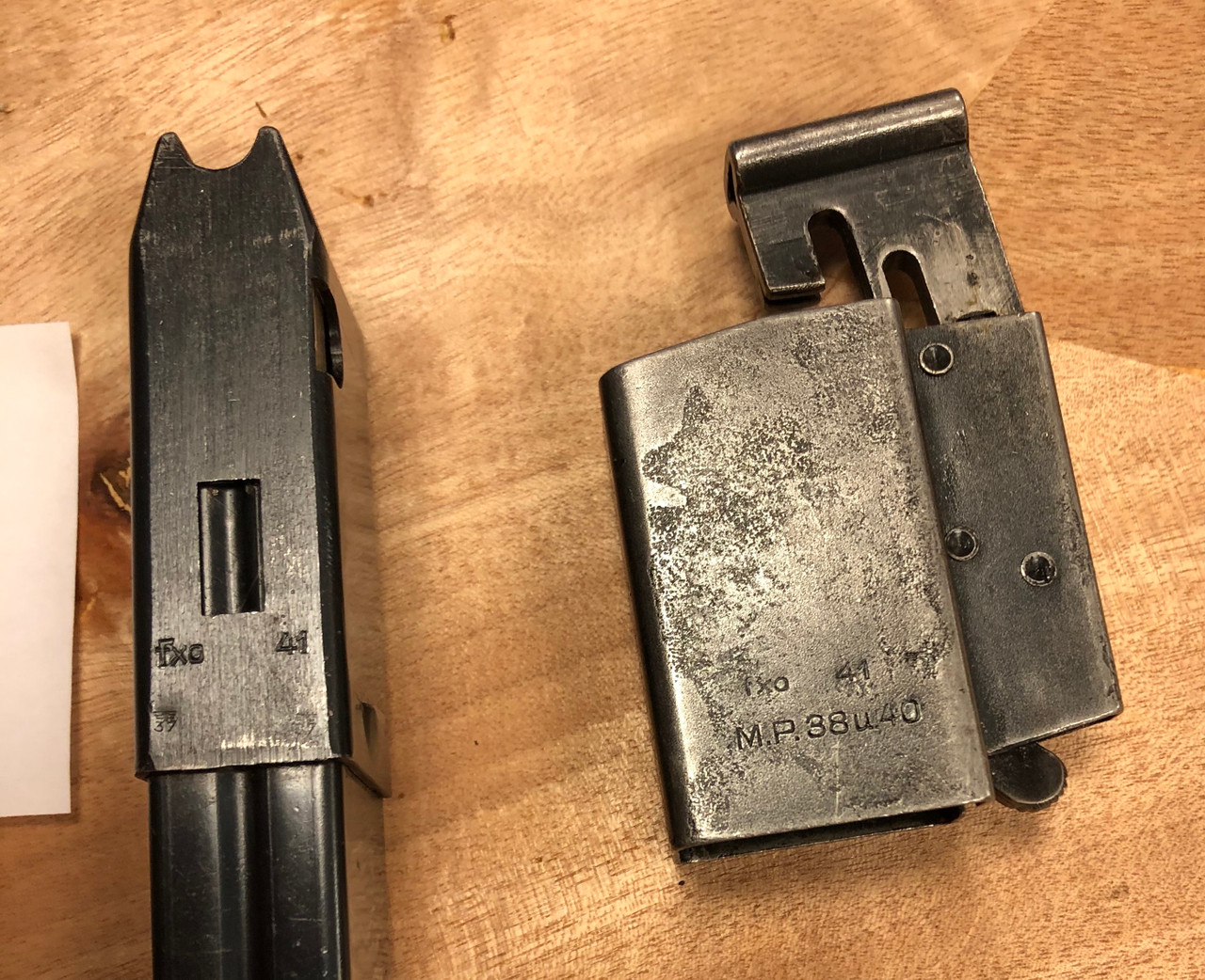 Early Magazine and Loader lot - Haenel 1941(lot 200729-04)