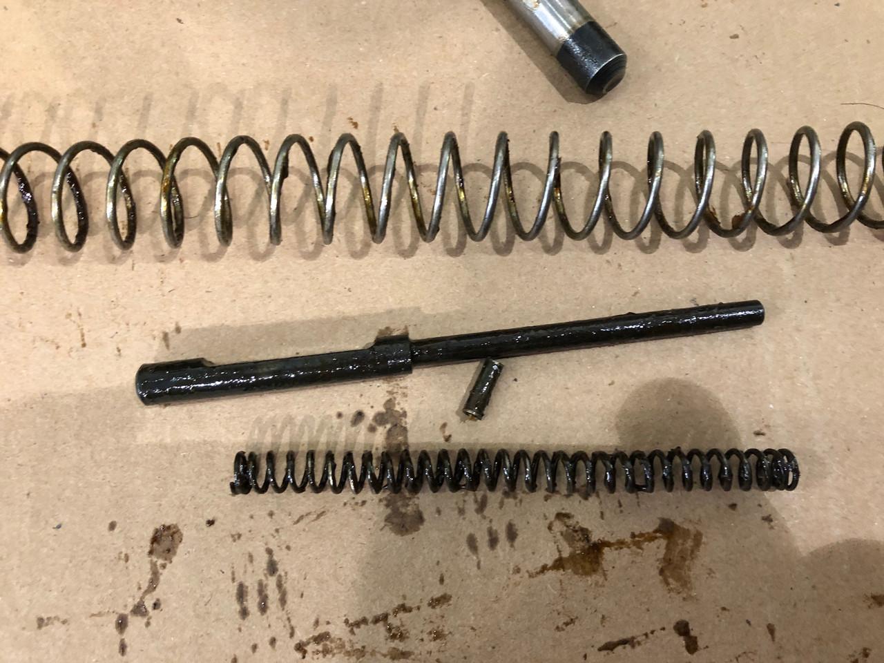 MG34 Parts Kit 114 - Gustloff-Werke markings - SHIPS FREE