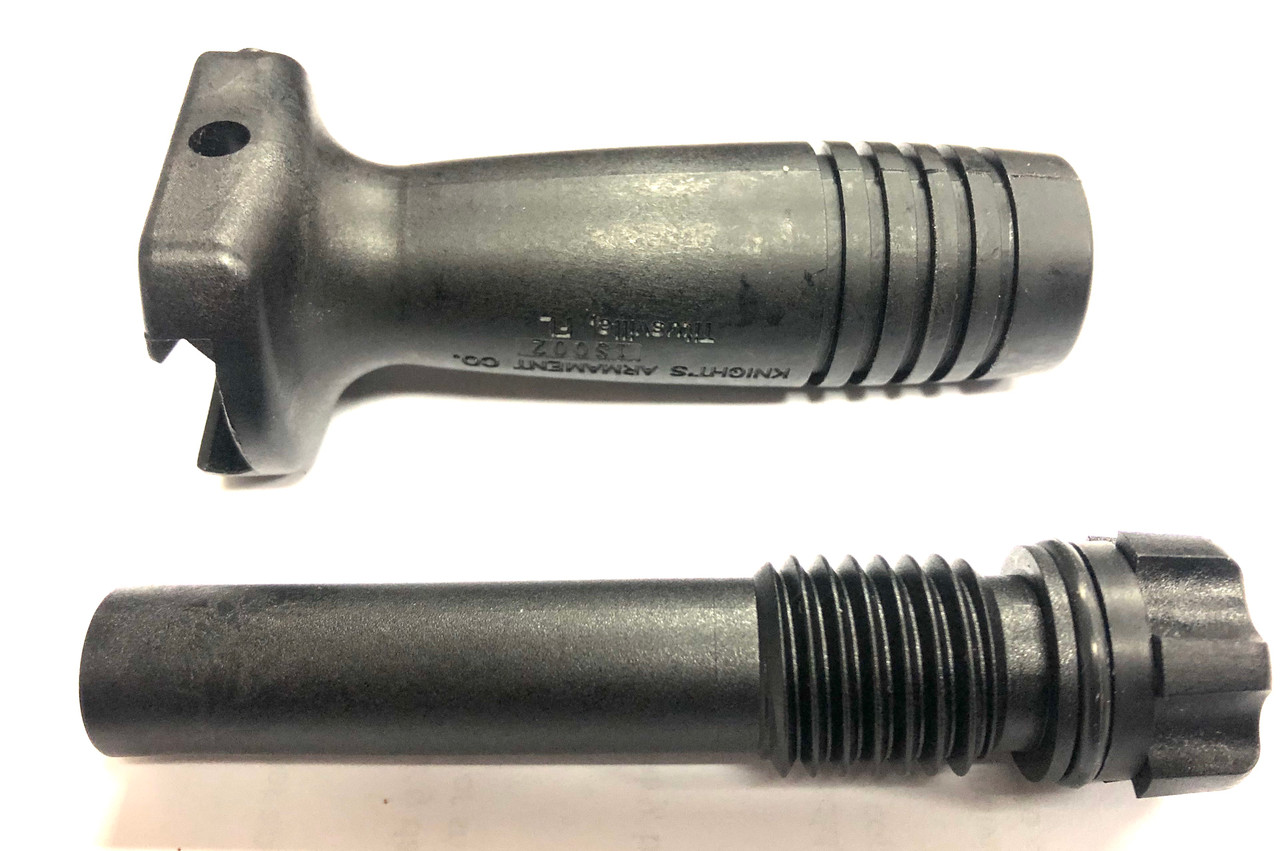 Knights Armament (KAC) Vertical Grip with IS002 Cage Code