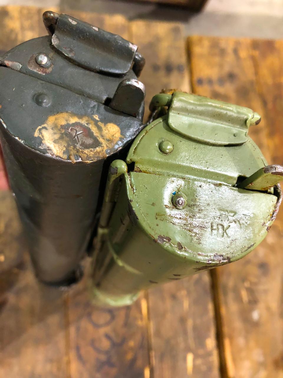 Lot of two HDK  Nazi marked: Laufschützer 34, MG34 original unconverted - lot 8