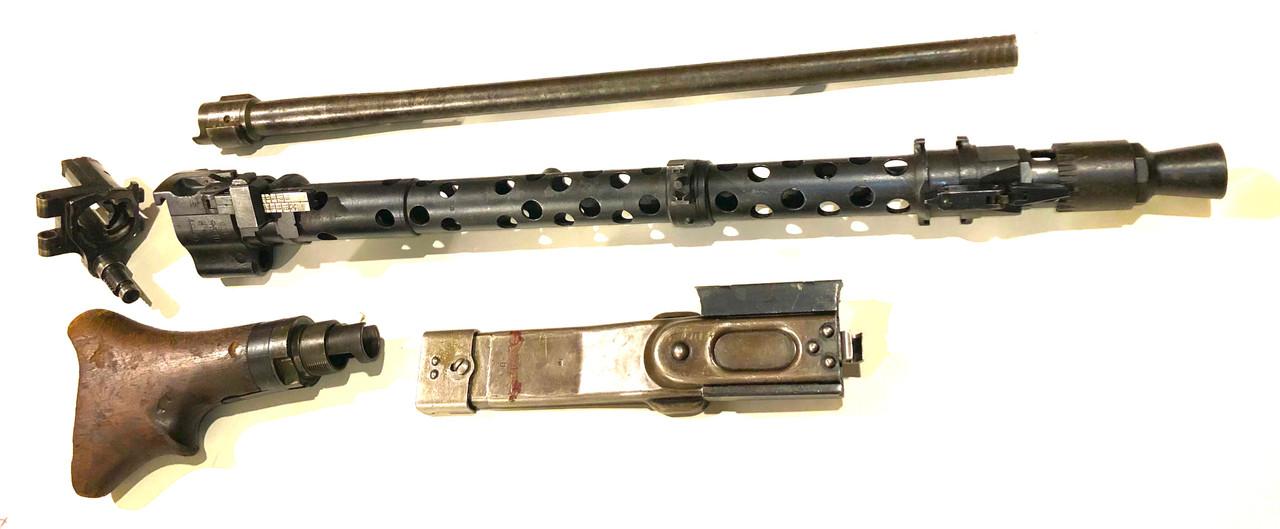 Lot 210212-09: MG34 Parts