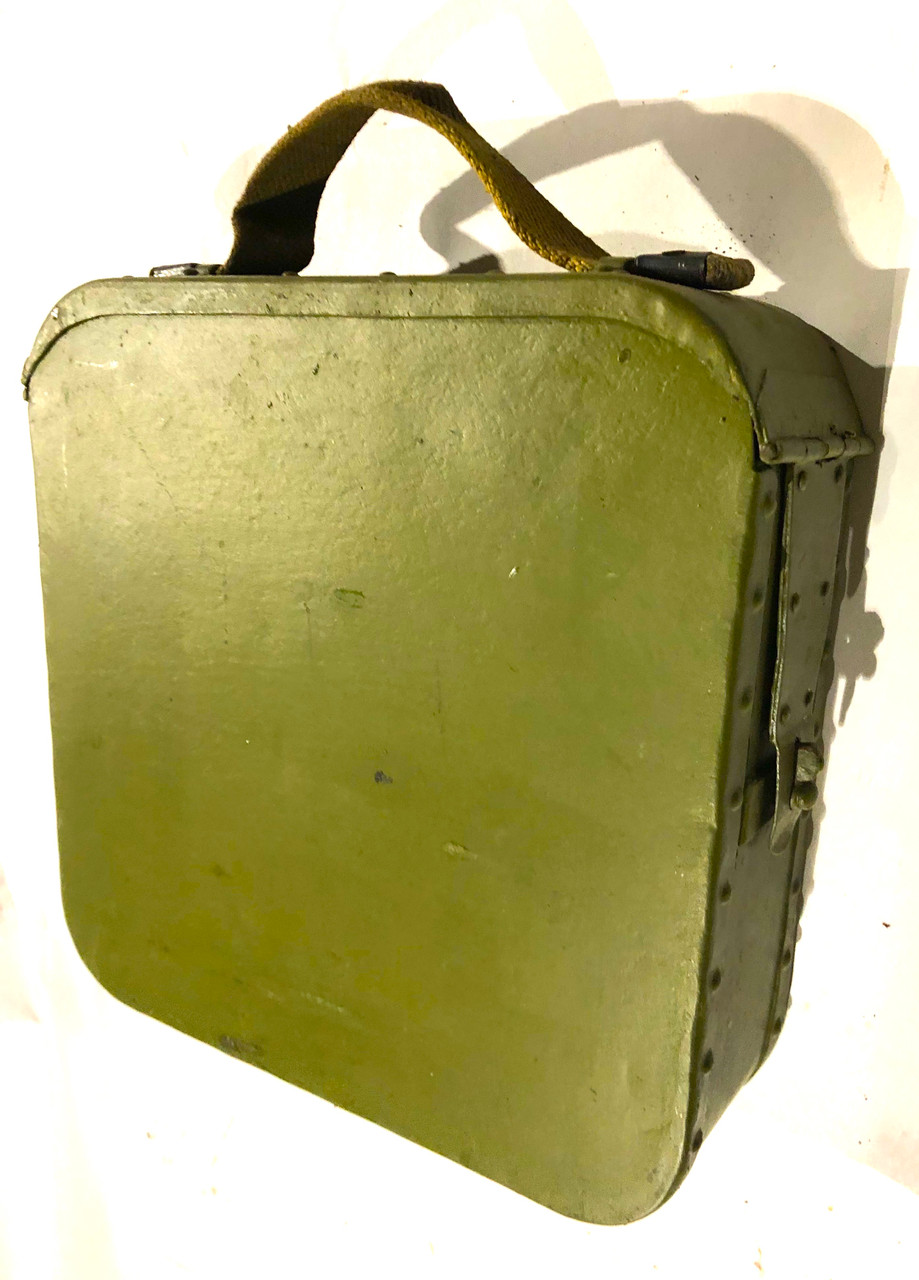 Russian - Finnish Maxim 200 Belt with Early Riveted Box - Very Good