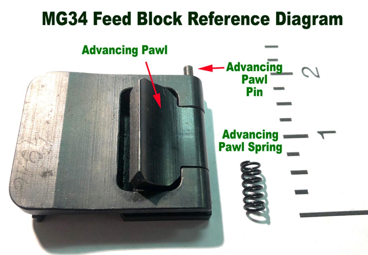 MG34 Top Advancing Pawl Pin