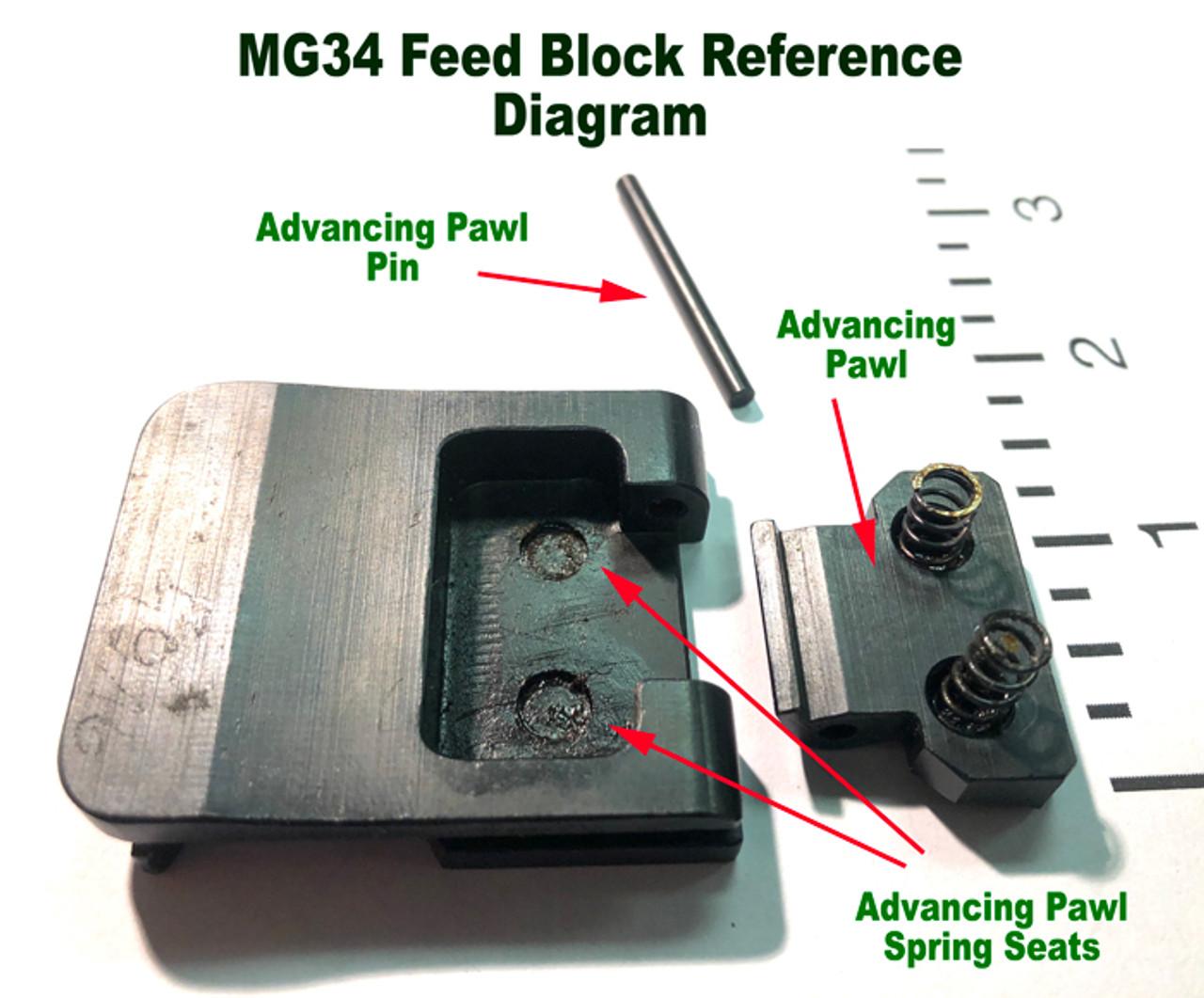 MG34 Top Advancing Pawl Spring