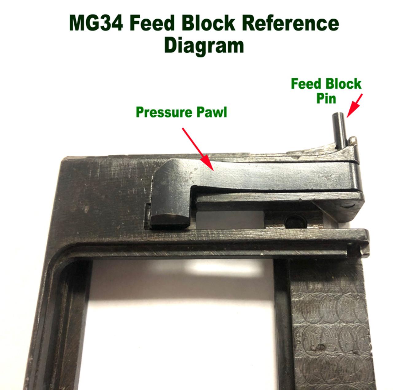 MG34 Pressure Pawl Spring