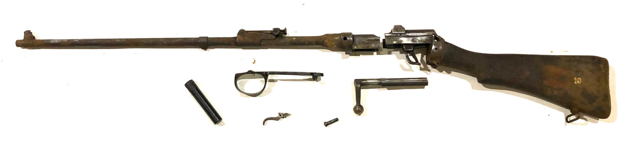 No1 Mk III Demilled Drill Purpose Barreled Action - RFI Markings - Good Brass Butt Plate