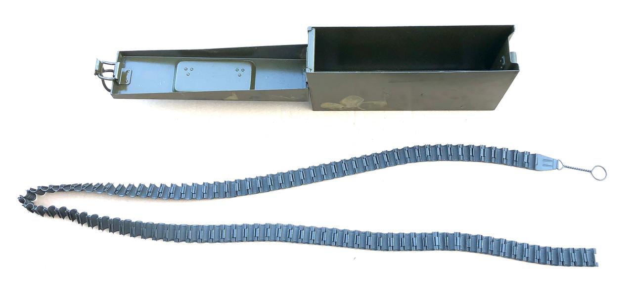 Czech Zb-37 Machine Gun Belt with Ammo Can