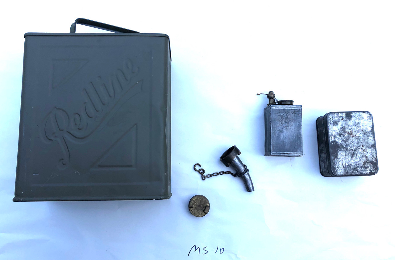 Vickers Water Can and Accessory Lot (Ships Free in Lower 48)