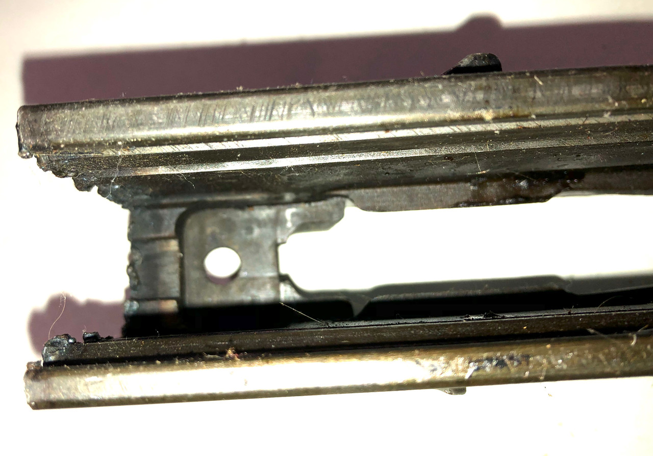 Lot 210826-02: Bren Parts Lot with Early Mk1 BREN Receiver Center Section - 1940 Enfield - First Pattern