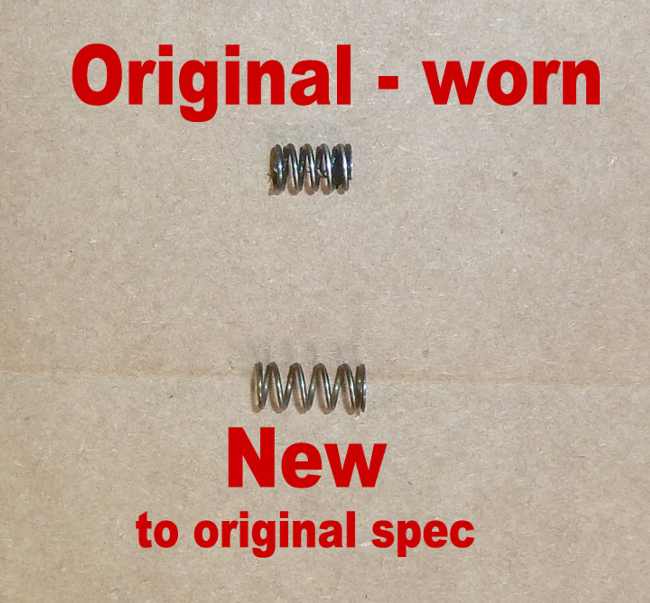MG34 Sear Spring - New Production