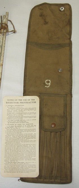 Resector Protractor Case (protractor not included)