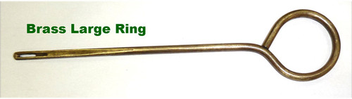 Webley Pistol Cleaning Rod (Brass Large Ring)