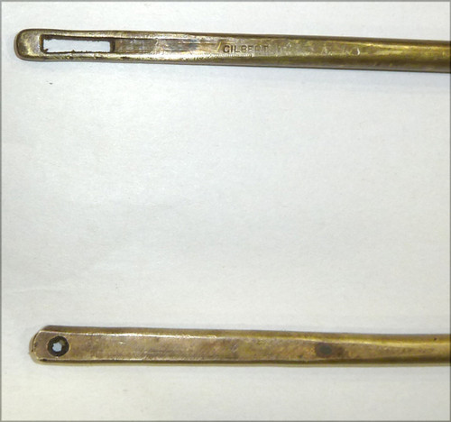 Webley Pistol Cleaning Rod Special Early (Brass Small Ring)