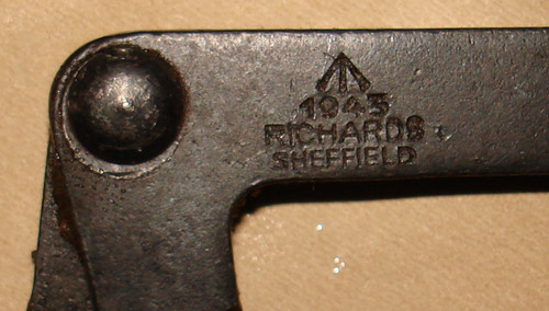 Original STEN Ruptured Case Tool, WW2 dated