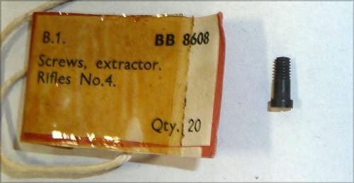 63 SCREW, Extractor, No4 Mk1