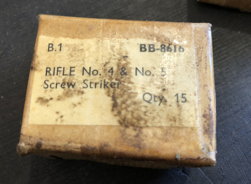 68 SCREW, Striker, No4 Rifle (NOS)