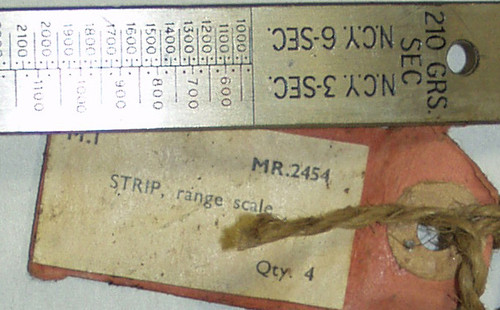 STRIP, range scale (steel)