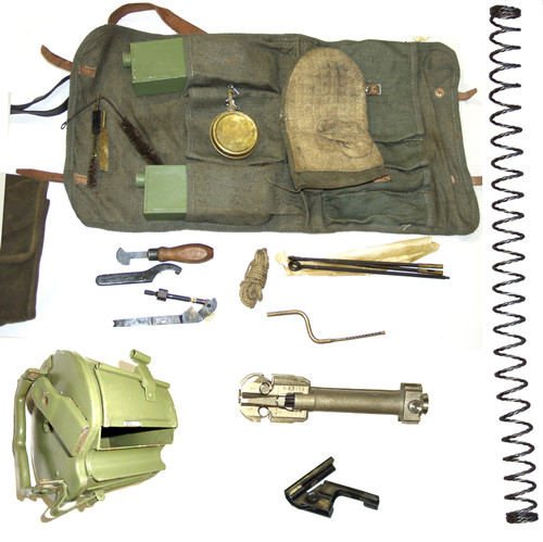 Deluxe MG42 Gunner Kit with Bolt, Mainspring, & Drum