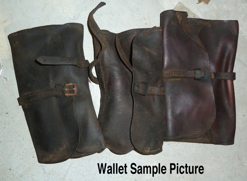 Vickers Wallet with Spares