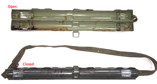 Nazi marked: Laufschützer 43, MG34 & MG42 dual purpose barrel carrier (smooth)